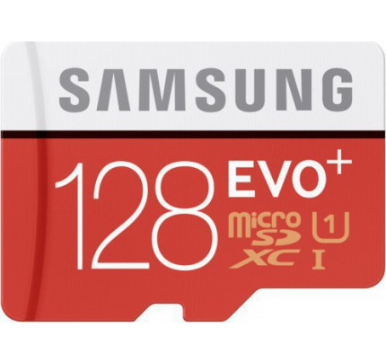 Samsung Evo+ microSDXC 128GB U1 with Adapter