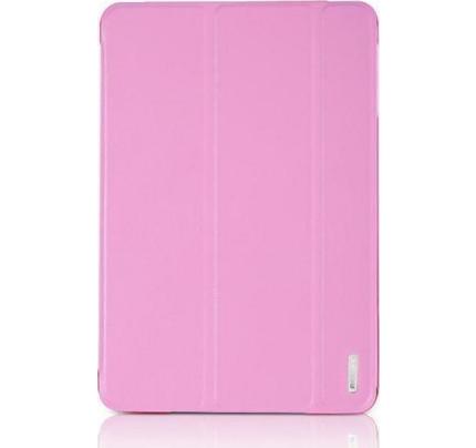 Θήκη Remax Jane για iPad Mini 3 ροζ χρώματος ( λειτουργία on/ off οθόνης , stand )