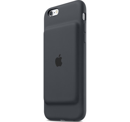 Apple MGQL2ZM Smart Battery Case iPhone 6 / 6S charcoal gray