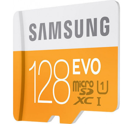 Samsung MB-MP128DA microSDXC 128GB EVO Samsung Class 10 with Adapter