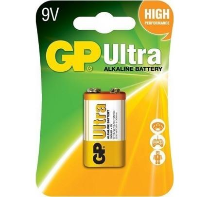 GP Ultra Αλκαλική Μπαταρία 9V