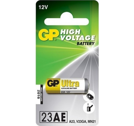 Αλκαλική Μπαταρία GP Batteries Alkaline 12V 23AE-L5 Blister