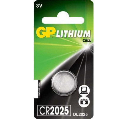 Μπαταρία GP lithium cell 3V CR2025