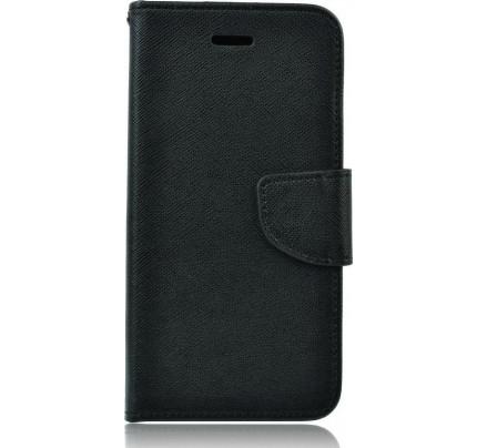 Θήκη OEM Fancy Diary για Samsung Galaxy J5 2017 J530 μαύρου χρώματος