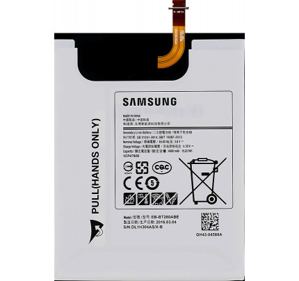 "Samsung Battery EB-BT280ABE Galaxy TAB A 2016 7"" T280 4000mAh Li-Ion"