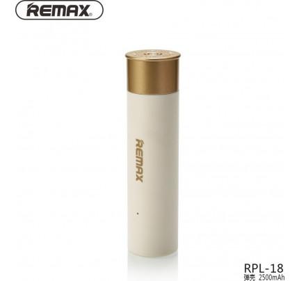Remax PowerBank RPL-18 2500mAh λευκού χρώματος