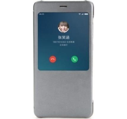 Xiaomi NYE5435TY Original S View Case Xiaomi Redmi Note 4 γκρι χρώματος