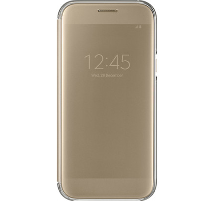 Samsung EF-ZA520CFE A5 2017 A520 Clear View Cover Gold