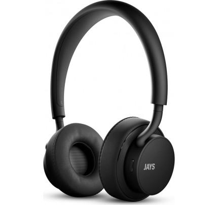 Ακουστικά Jays u-Jays Wireless Black T00181 ( 25hr Playtime ,with touch controls)