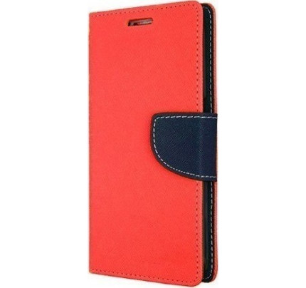 Θήκη OEM Fancy Diary για Xiaomi Redmi 4X Red Navy (θήκες για κάρτες, χρήματα,stand )