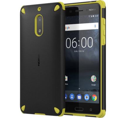 Nokia Rugged Impact Case CC-502 για Nokia 5 Lemon Black