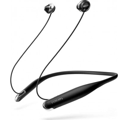 Philips SHB4205BK Flite Hyprlite Bluetooth In-Ear Headphones with Mic, Black