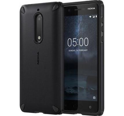 Nokia Rugged Impact Case CC-502 για Nokia 5 Pitch Black