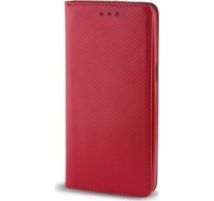 Θήκη OEM Smart Magnet για Huawei P9 Lite Mini κόκκινου χρώματος (stand ,θήκη για κάρτα )