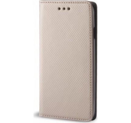 Θήκη OEM Smart Magnet για Xiaomi Mi A1 χρυσού χρώματος (stand ,θήκη για κάρτα )