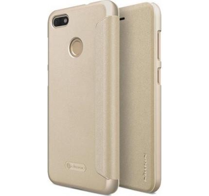 Θήκη Nillkin Sparkle Folio για Huawei P9 Lite Mini χρυσού χρώματος