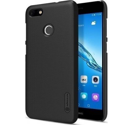 Θήκη Nillkin Super Frosted Shield για Huawei P9 Lite Mini black + Φιλμ Προστασίας Οθόνης
