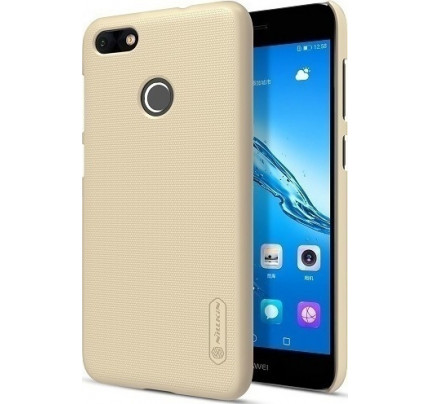 Θήκη Nillkin Super Frosted Shield για Huawei P9 Lite Mini gold + Φιλμ Προστασίας Οθόνης