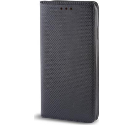 Θήκη OEM Smart Magnet για Huawei Mate 10 Lite μαύρου χρώματος (stand ,θήκη για κάρτα )