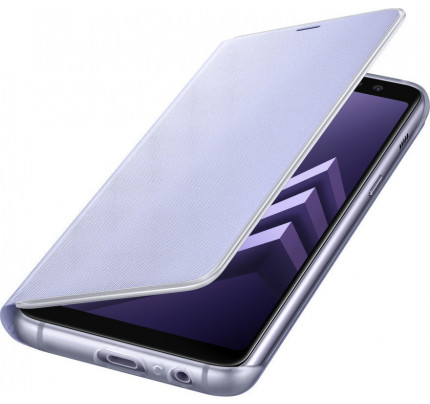 Samsung EF-FA530PVE Original Neon Flip Cover A8 2018 purple