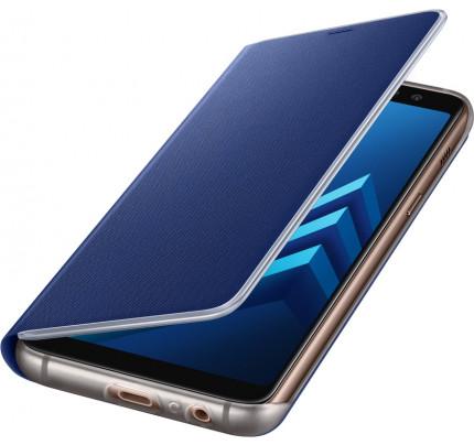 Samsung EF-FA530PLE Original Neon Flip Cover A8 2018 blue