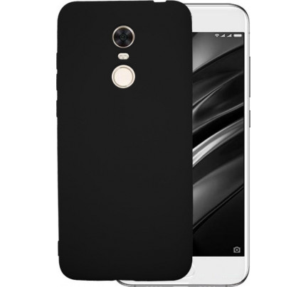 Θήκη OEM Soft Matt TPU για Xiaomi Redmi 5 Plus black