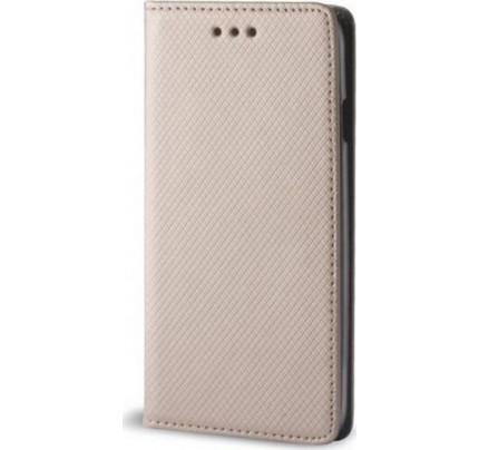 Θήκη OEM Smart Magnet για Xiaomi Redmi 5 χρυσού χρώματος (stand ,θήκη για κάρτα )