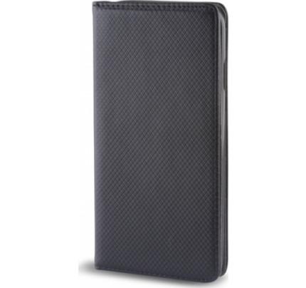 Θήκη OEM Smart Magnet για Huawei Y7 2018 / Y7 Prime μαύρου χρώματος ( θήκη για κάρτα , stand )