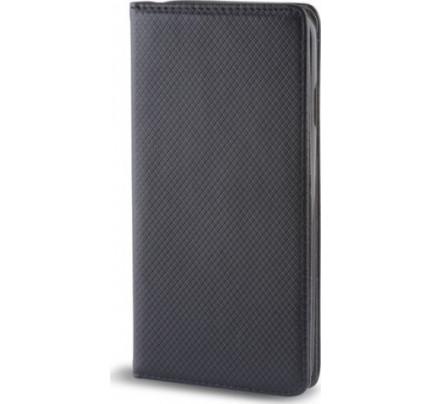 Θήκη Smart Magnet για Xiaomi Redmi Note 5 μαύρου χρώματος (stand ,θήκη για κάρτα )