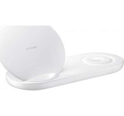 Samsung Wireless Charger Duo White για το Samsung Galaxy Note 9 EP-N6100TWEG