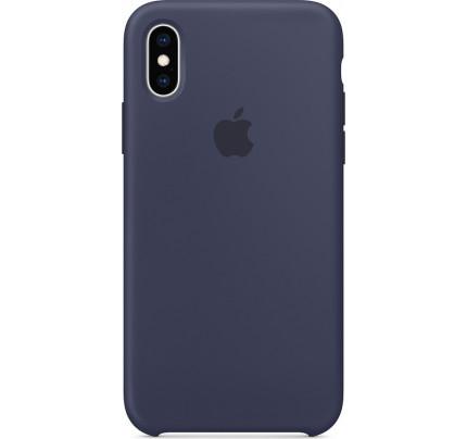 Apple MRW92ZM/A Original Silicone Case iPhone XS Midnight Blue
