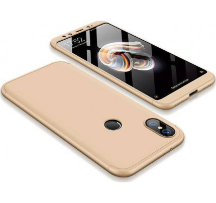 Θήκη OEM 360 Protection front and back full body για Xiaomi Mi A2 / Mi 6X gold