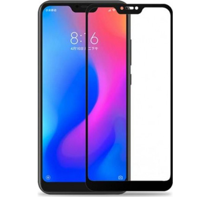 Tempered Glass 9D full face για Xiaomi Mi 9 / MI9 black full glue