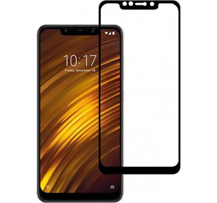 Φιλμ Προστασίας Οθόνης Tempered Glass (άθραυστο ) 9H 5D για Xiaomi Pocophone F1 πλήρους κάλυψης -  full face black