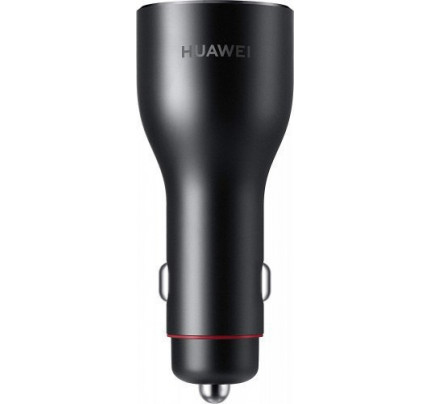 Huawei CP37 SuperCharge Φορτιστής αυτοκινήτου 2XUSB (5V/2A & 10V/4A) Type C Black