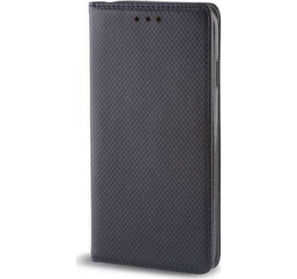Θήκη OEM Smart Magnet για Xiaomi Mi 8 SE μαύρου χρώματος (stand ,θήκη για κάρτα )