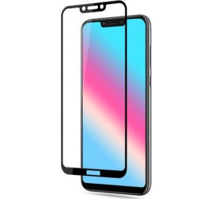 Tempered Glass (άθραυστο ) 5D 9H full glue για Huawei Honor Play black