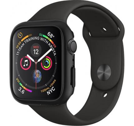 Spigen Thin Fit Case Apple Watch Series 6 / 5 / 4 / SE 44mm black 062CS24474