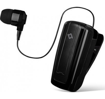 TTEC Macaron™ Mini 2 Bluetooth Ακουστικό Mε Επεκτεινόμενο Καλώδιο μαύρου χρώματος
