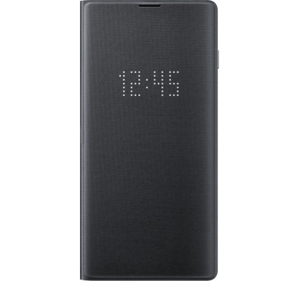 Samsung Original EF-NG973PBEGW Led View Cover Galaxy S10 Black