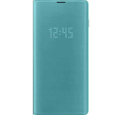 Samsung Original EF-NG975PGEGW Led View Cover Galaxy S10 PLUS Green