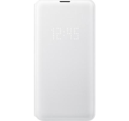 Samsung Original EF-NG973PWEGW Led View Cover Galaxy S10 White