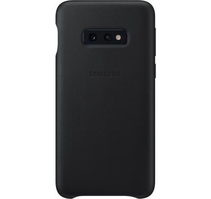 Samsung Original EF-VG970LBEGW Leather Cover Galaxy S10e black