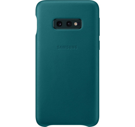 Samsung Original EF-VG973LGEGW Leather Cover Galaxy S10 green