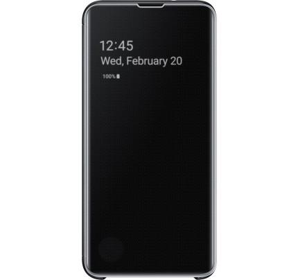 Samsung Original EF-ZG975CBEGW Clear View Cover Galaxy S10 Plus black