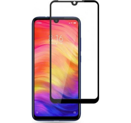 Full Face Tempered Glass 9H Xiaomi Redmi Note 7 with full glue black
