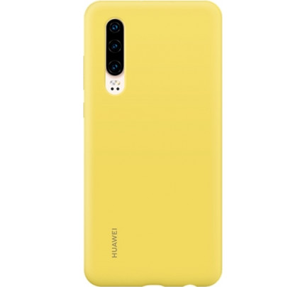 Huawei Original Silicon Protective Case P30 Yellow 51992852
