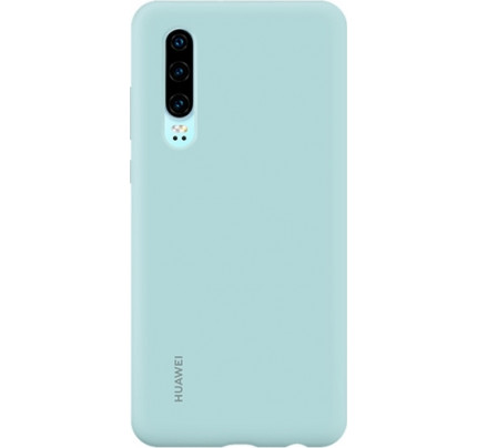 Huawei Original Silicone Protective Case Huawei P30 Light Blue 51992958