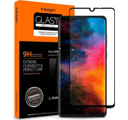 Spigen GLAS.tR Full Cover Huawei P30 Premium Tempered Glass L38GL26018
