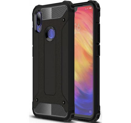 Θήκη OEM Hybrid Armor Tough Rugged Cover για Xiaomi Redmi Note 7 black